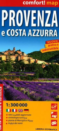 Buy map Provence and Cote dAzur, Laminated Road Map by Libreria Geografica