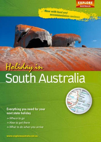 Buy map Holiday in South Australia by Universal Publishers Pty Ltd