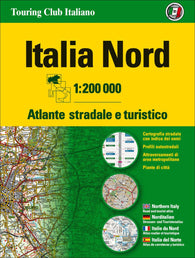 Buy map Italy, Northern Road Atlas by Touring Club Italiano