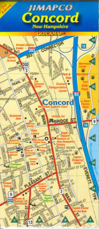 Buy map Concord, New York, Quickmap by Jimapco