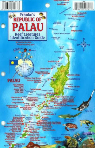 Buy map Palau Reef Creatures Identification Guide by Frankos Maps Ltd.