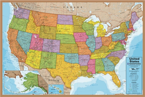 Buy map United States Map, 500 Piece Puzzle by Hema Maps