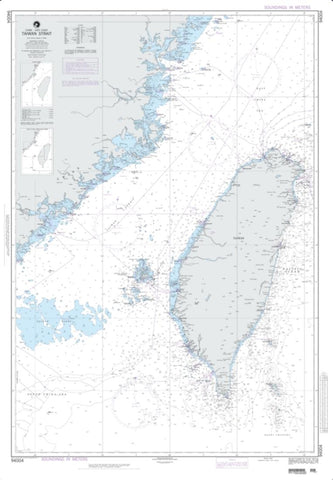 Buy map Taiwan Strait (NGA-94004-7) by National Geospatial-Intelligence Agency