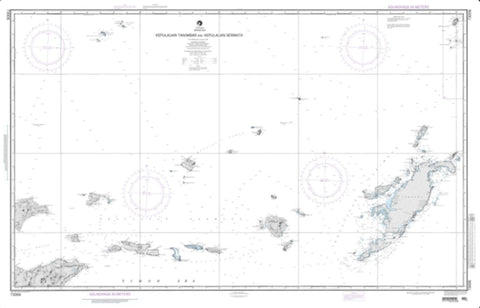 Buy map Tanimbar And Sermata - Banda Sea (NGA-73006-2) by National Geospatial-Intelligence Agency