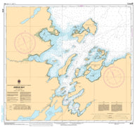 Buy map Ariege Bay by Canadian Hydrographic Service