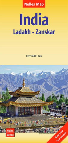 Buy map India, Ladakh and Zanskar by Nelles Verlag GmbH