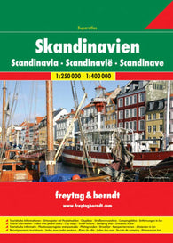 Buy map Scandinavia, Atlas by Freytag-Berndt und Artaria