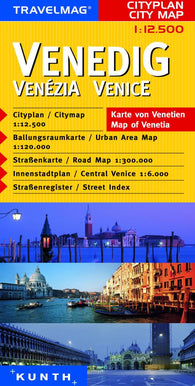 Buy map Venice, Italy by Kunth Verlag