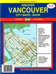 Buy map Vancouver, Canada, Atlas by GM Johnson