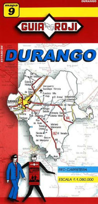 Buy map Durango, Mexico, State Map by Guia Roji