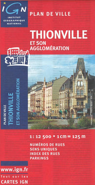 Buy map Thionville, France by Institut Geographique National