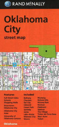 Buy map Oklahoma City, Oklahoma, Street Map by Rand McNally