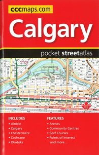 Buy map Calgary AB Pocket Street Atlas by Canadian Cartographics Corporation