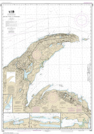 Buy map Big Bay Point to Redridge; Grand Traverse Bay Harbor; Lac La Belle harbor; Copper and Eagle Harbors (14964-22) by NOAA