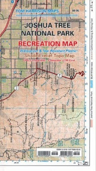 Buy map Joshua Tree National Park, California by Tom Harrison Maps