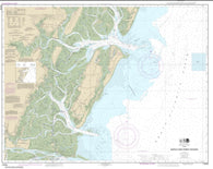Buy map Sapelo and Doboy Sounds (11510-20) by NOAA