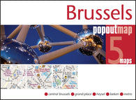 Buy map Brussels, Belgium, PopOut Map by PopOut Products, Compass Maps Ltd.