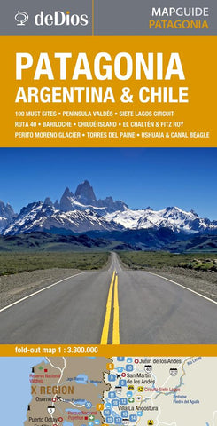 Buy map Patagonia by deDios