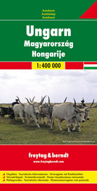 Buy map Hungary by Freytag-Berndt und Artaria