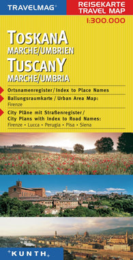 Buy map Tuscany, Italy by Kunth Verlag