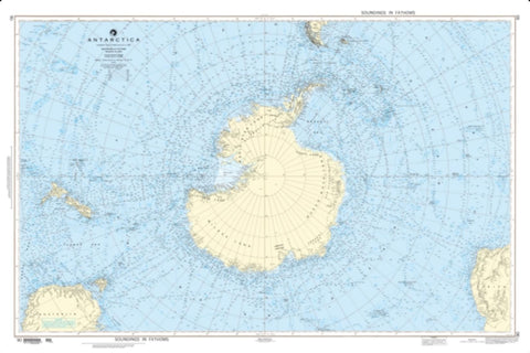 Buy map Antarctica (NGA-90-5) by National Geospatial-Intelligence Agency