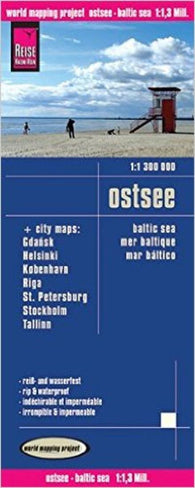 Buy map Baltic Sea by Reise Know-How Verlag