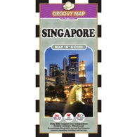 Buy map Singapore, Map n Guide by Groovy Map Co.