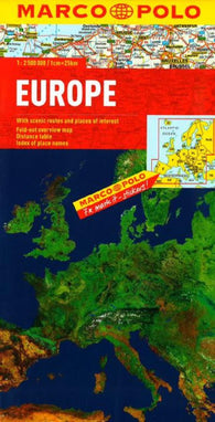 Buy map Europe by Marco Polo Travel Publishing Ltd