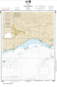 Buy map Puerto Arroyo (25689-10) by NOAA