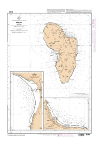 Buy map Baie de Moerai by SHOM