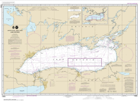 Buy map Lake Ontario (14800-10) by NOAA