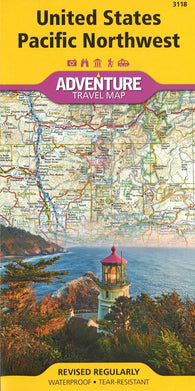 Buy map U.S. Pacific Northwest Adventure Map 3118 by National Geographic Maps