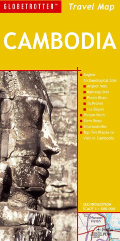 Buy map Cambodia, Travel Map by New Holland Publishers