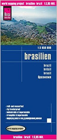 Buy map Brazil by Reise Know-How Verlag