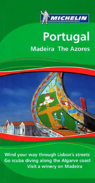 Buy map Portugal, Madeira and The Azores, Green Guide by Michelin Maps and Guides
