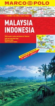 Buy map Malaysia and Indonensia by Marco Polo Travel Publishing Ltd