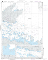 Buy map Approaches To Bahia De Samana (NGA-25723-40) by National Geospatial-Intelligence Agency