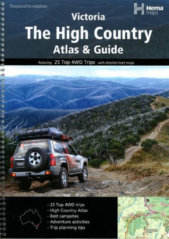 Buy map Victoria, The High Country, Atlas and Guide by Hema Maps