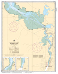 Buy map East River of Pictou, Indian Cross Point to Trenton and New Glasgow by Canadian Hydrographic Service