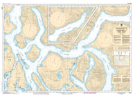 Buy map Approaches to/Approches a Toba Inlet by Canadian Hydrographic Service
