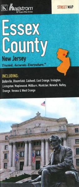 Buy map Essex County, New Jersey by Kappa Map Group