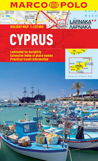 Buy map Cyprus by Marco Polo Travel Publishing Ltd