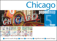 Buy map Chicago, Illinois, PopOut Map by PopOut Products, Compass Maps Ltd.