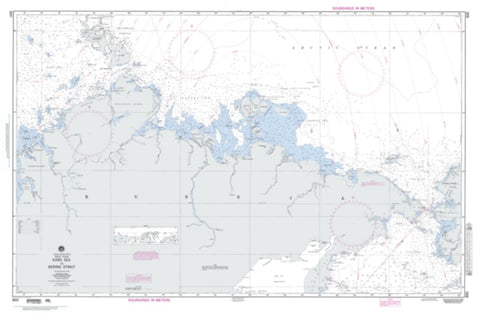 Buy map Kara Sea To Bering Strait (Arctic) (NGA-800-4) by National Geospatial-Intelligence Agency