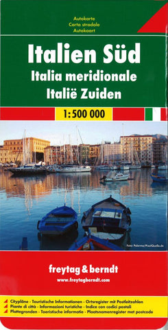 Buy map Italy, Southern by Freytag-Berndt und Artaria