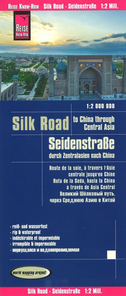Buy map Silk Road Map by Reise Know-How Verlag