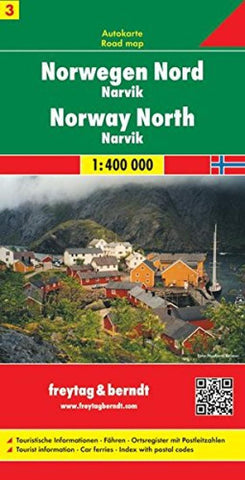 Buy map Norway, North, Narvik by Freytag-Berndt und Artaria