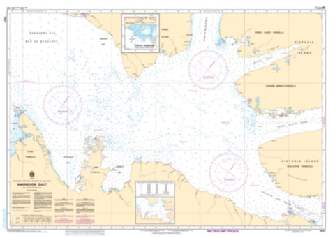 Buy map Amundsen Gulf by Canadian Hydrographic Service