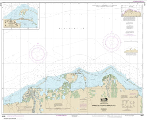 Buy map Barter Island and approaches; Bernard Harbor (16043-8) by NOAA