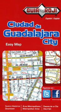 Buy map Guadalajara, Mexico by Guia Roji